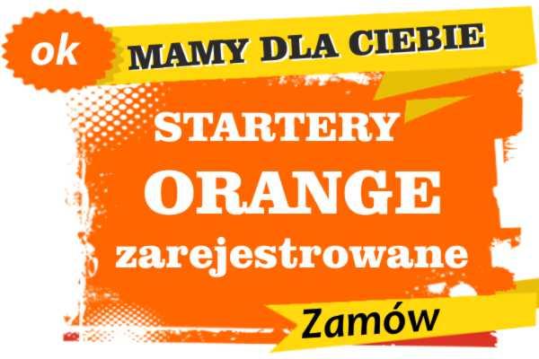 Sprzedam zarejestrowane karty sim orange Korfantów  zadzwoń 887 332 665